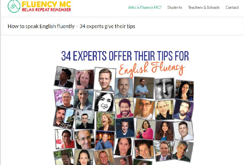 Photos of 34 experts from fluencymc.com