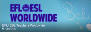 FB groupe ESL_EFL Teachers Worldwide